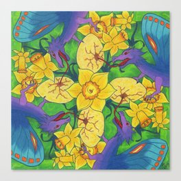 Dragondala Spring Canvas Print