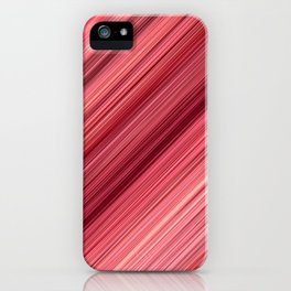 Ambient 33 in Red iPhone Case