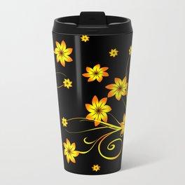 Flower Fantasy 3 Travel Mug