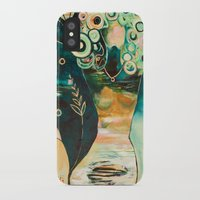 """flora bowley iPhone & iPod Cases featuring """"Thirty Six"""" Original Painting by Flora Bowley by Flora Bowley"""
