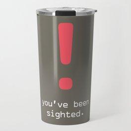 ! Sighted Travel Mug