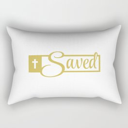 Saved Design Rectangular Pillow