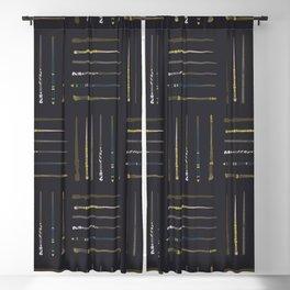 Moon - Illustration Blackout Curtain