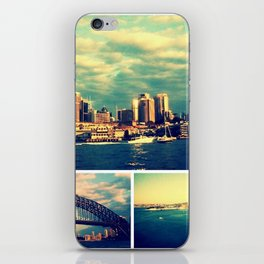 Postcards from Sydney iPhone Skin