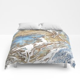 Woody Silver Comforters