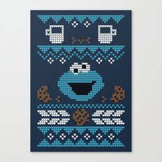 C is for Cookie! Canvas Print