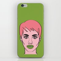 mod iPhone & iPod Skins featuring Mod by Grace Teaney Art