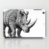 bioworkz iPad Cases featuring Rhinoceros by BIOWORKZ
