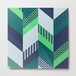 Japanese Patterns 10 Metal Print