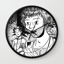 The Tale of the Long Ago Locket Wall Clock