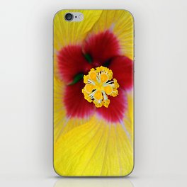 Yellow flower ## iPhone Skin