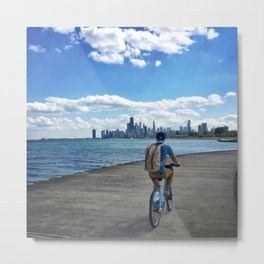 Chicago Boardwalk Metal Print