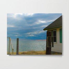 Provincetown cabins Metal Print