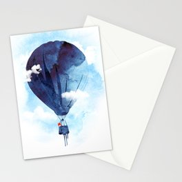 Bye Bye Balloon Stationery Cards