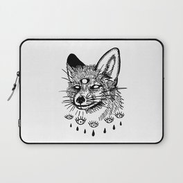 what the fox sees Laptop Sleeve
