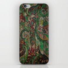 Kashmir on Wood 05 iPhone & iPod Skin