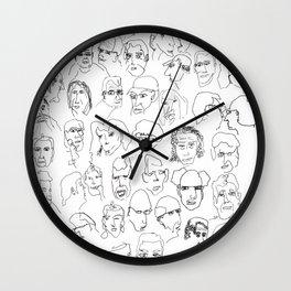 Supermarket people Wall Clock