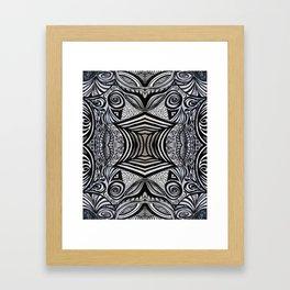 Gaia's Garden Inside Out No. 1 Framed Art Print