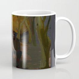 Zombie in the Park Coffee Mug