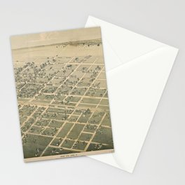 Cuero Texas 1881 Stationery Cards
