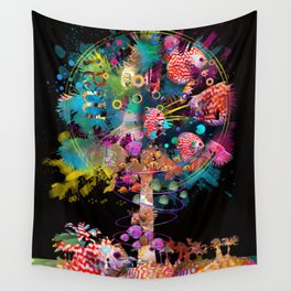 In the Palm of yur Hands Wall Tapestry