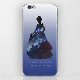 Space Princesses: Cinderella iPhone Skin