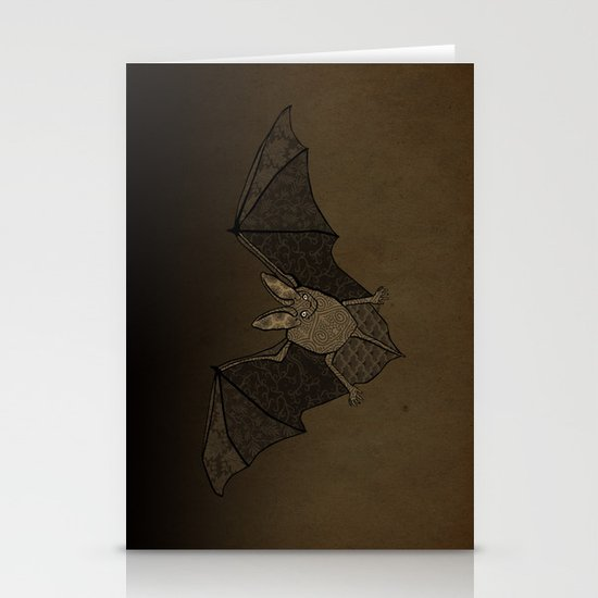 Batty Stationery Cards
