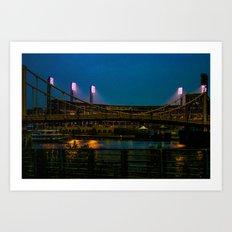 PNC Park pathways Art Print