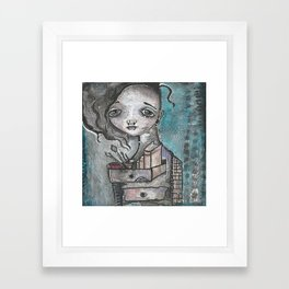 PanArt Self Portrait Framed Art Print