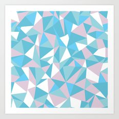 Abstraction Pastel Art Print