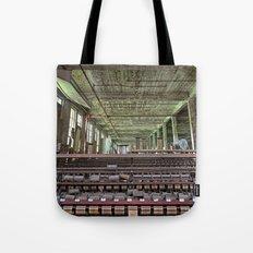 Abandoned Lonaconing Silk Mill Tote Bag