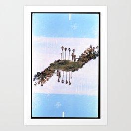 Landscapes c2 (35mm Double Exposure) Art Print