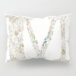 M of Leaves Pillow Sham