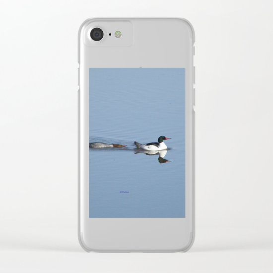 Mergansers on the Kenai Clear iPhone Case
