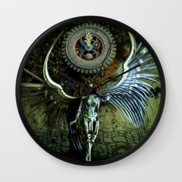 The Last Shadow Of The Time Wall Clock