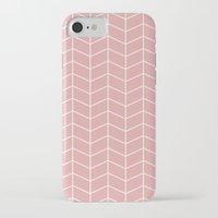 pun iPhone & iPod Cases featuring Kuvio vaal. pun. pohjalla by Ilona