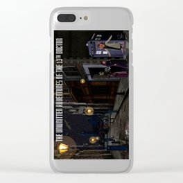 The 13th Doctor and the Paternoster Detective Agency Clear iPhone Case