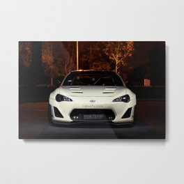 A Demon In The Dark Metal Print