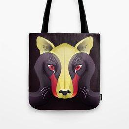 Cougar Swan Tote Bag