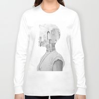 silhouette Long Sleeve T-shirts featuring Silhouette by Kim Leutwyler