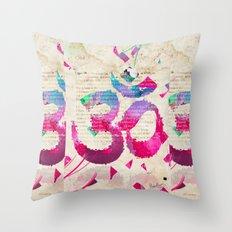 OM Throw Pillow