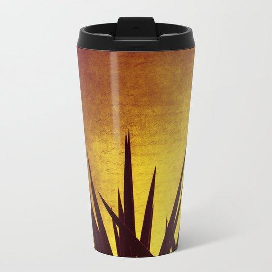 Yucca Sunset Metal Travel Mug