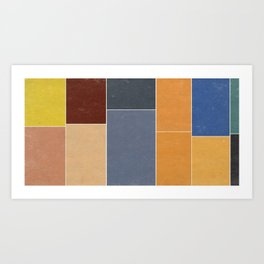 The Decay of Color Art Print