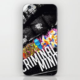Criminal Mind iPhone Skin