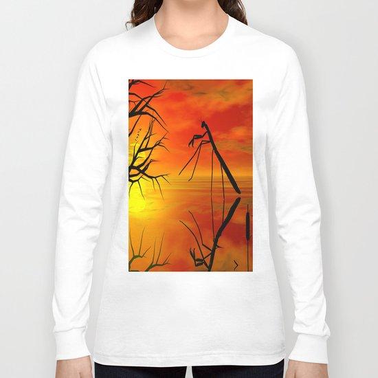 Gottesanbeterin Long Sleeve T-shirt
