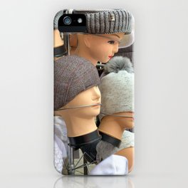 She Persisted (Mannequin) iPhone Case