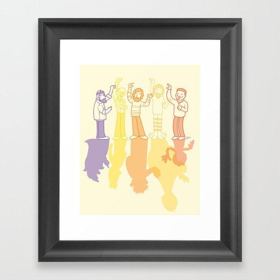 Making Magic Framed Art Print