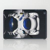 battlestar galactica iPad Cases featuring Cafe Galactica by JoPruDuction Art