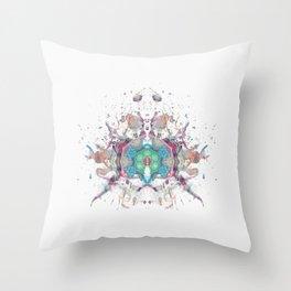 Inkdala LXV Throw Pillow
