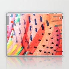 Fun Lovin - a bright watercolor piece Laptop & iPad Skin